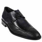 Shark Skin Dress Shoe Black