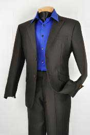 Slim Fit affordable suit online sale Black
