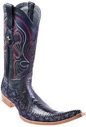 Leg Handmade Black Cherry Los Altos Mens Cowboy Fashion Boots Western