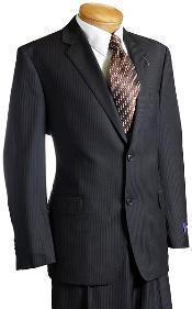 Pinstripe Wool Italian Design
