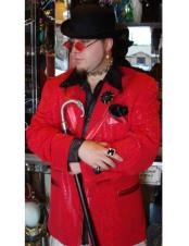 Red Double Breasted Cheap Priced Blazer Jacket For Men ~ Sport