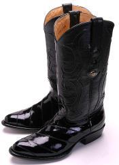 Classy Black Los Altos Mens Cowboy Boot ~ botines para hombre