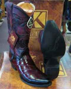 Exotic Genuine Eel Skin Snip Toe Western Cowboy Dress Cowboy Boot