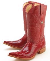 bab4a28a18a Los Altos Men's Genuine Smooth caiman ~ World Best Alligator ~ Gator  Skin/Tail Cowboy Western Boots Diff. Colors