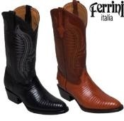Mens Cowboy Lizard R-Toe