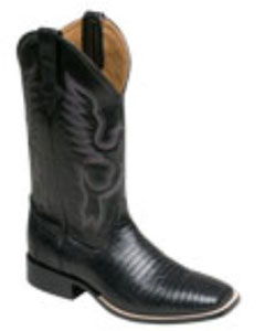 Mens Teju Lizard S-Toe SHOP WITH CONFIDENCE  SHOPPING ON MensUSA.COM IS SAFE AND SECURE. GUARANTEED! All information is encrypted and transmitted without risk using a Secure Sockets Layer (SSL) protocol. This great looking vintage S-toe Lizard is a must for all exotic boot enthusiast.