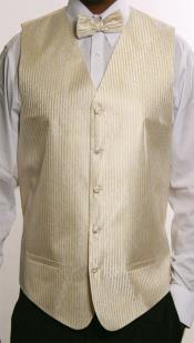 4 Piece JQD Groomsmen Dress Tuxedo Wedding Vest ~ Waistcoat ~