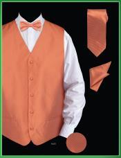 Piece Vest Set (Bow