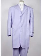 4 Button Lavender Single Breasted Notch Lapel Zoot Suit