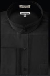 Cuff Banded Collar dress