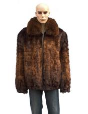 Fur Genuine Mink Fox