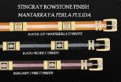 Belts Stingray Rowstone Finish