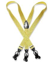 Gold Color Suspenders For