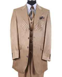 Stripe Urban Fashion Suit