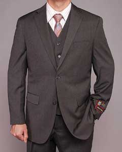 Teakweave 2-button Vested Suit