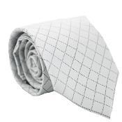 Gray Diamond Checkered Neck
