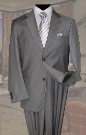 Mens Wool Suit 2 Button 2pc Super 150s With Hand Pick