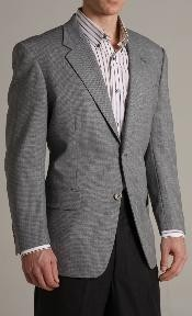 Single Breasted Grey-ish Blue Two buttoned Super 100 Wool Sports Jacket Cheap