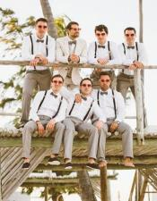 Groom and Groomsmen Wedding Attire For Man (Call Over the phone to