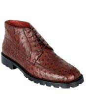 Altos Mens Genuine Ostrich