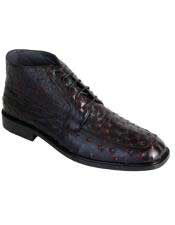 Boots Mens Genuine Ostrich