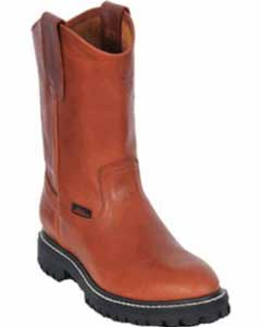 Los Altos Grasso Nappa Work Boot with Full Lug Sole Honey