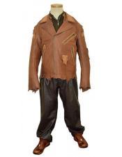 Mens Dark Brown Genuine Hornback World Best Alligator ~ Gator Skin/Leather