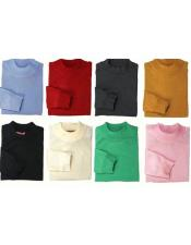 Mens Inserch Mock Neck Pullover High Collar Sweater Available in Big