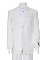 Ivory Mens Two Button Tuxedo