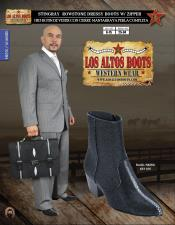 Altos J-Toe Stingray mantarraya skin Mens Dressy Western Cowboy Boot Diff Colors/Sizes