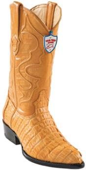 West J-Toe Buttercup caiman ~ World Best Alligator ~ Gator Skin Tail Cowboy Boots