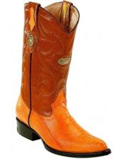 Mens Genuine Ostrich Leg Skin Dress Cowboy Boot Cheap Priced For Sale