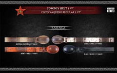 Karunga Mens Cowboy Belt