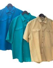 Mens Casual Two Piece Walking Outfit For Sale Pant Sets Linen Shirt & Pants Available In Color