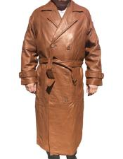 Coat Real Leather Long