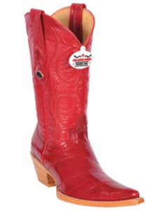 Eel Skinned Cowgirl Boot