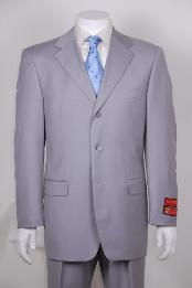 Gray 3 Button Vented