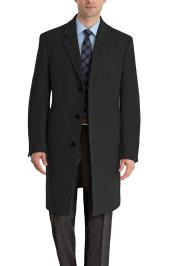 by Ralph Lauren Mens Luther Cashmere Blend Overcoat