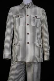 Stripe Long Sleeve Casual