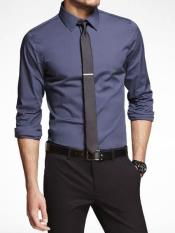 Dark Blue high school homecoming outfits for guys