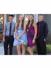 Grey Navy high school homecoming outfits for guys