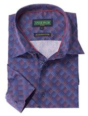 Jacquard Cotton Navy Printed