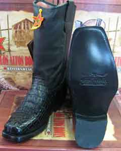 Altos Black Crocodile ~ World Best Alligator ~ Gator Skin Tail