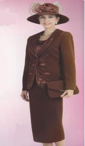 Couture Promotional Ladies Suits- Brown