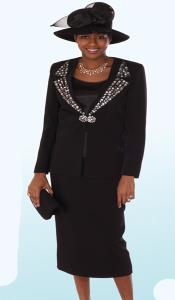 Couture Promotional Ladies Suits- Black