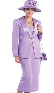 Couture Promotional Ladies 3 Piece Suits- Lavender