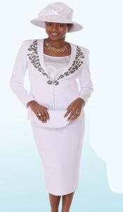 Promotional Ladies Suits- White