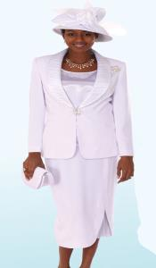 Couture Promotional Ladies White Suits