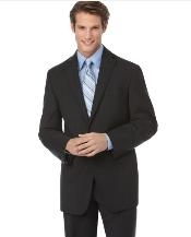 Mantoni Brand Suit Black Tonal checkered check pattern Suit Slim Fit