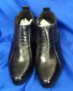 Two Tone Shoes Black